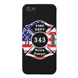 Firefighter 9/11 Never Forget 343 iPhone 5 Case