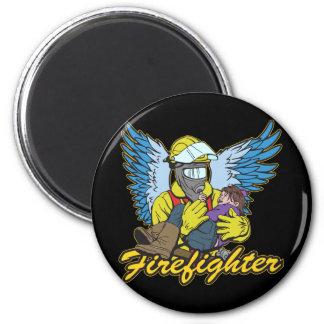 Firefighter Angel Magnet