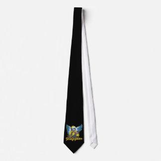 Firefighter Angel Tie