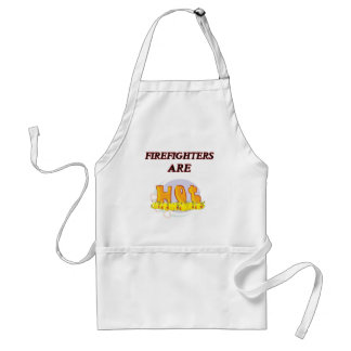 FIREFIGHTER ARE HOT STANDARD APRON