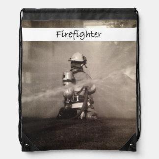 Firefighter At Work Rucksacks