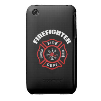 Firefighter Badge iPhone 3 Case-Mate Cases