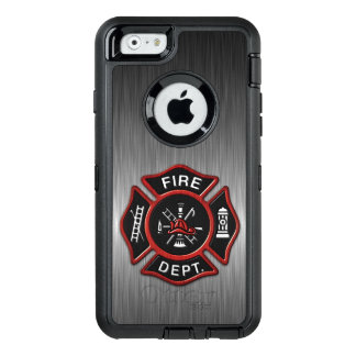 Firefighter Badge Deluxe OtterBox Defender iPhone Case