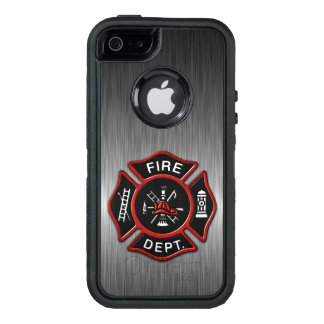 Firefighter Badge Deluxe OtterBox iPhone 5/5s/SE Case