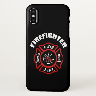 Firefighter Badge iPhone X Case