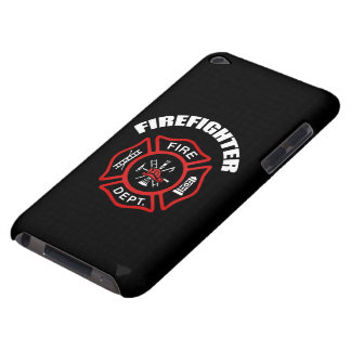 Firefighter Badge iPod Touch Case-Mate Case