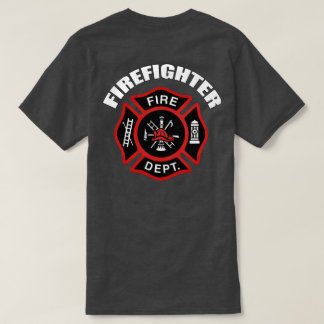 Firefighter Badge T-Shirt