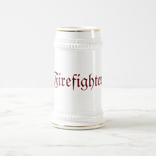 Firefighter Beer Stein