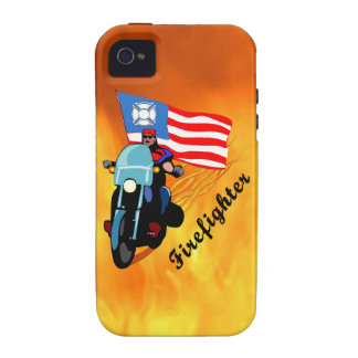 Firefighter Bikers Vibe iPhone 4 Case