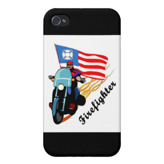 Firefighter Bikers Case For iPhone 4