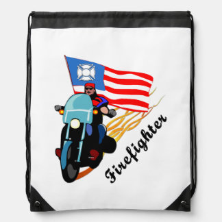 Firefighter Bikers Backpack