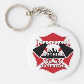 Firefighter boyfriend) key ring