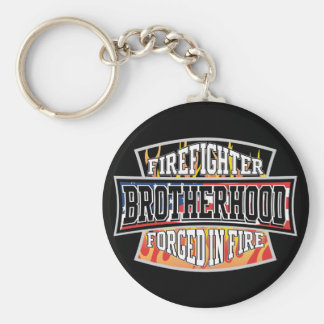 Firefighter Brotherhood Key Ring