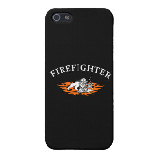 Firefighter Bull Dog Tough Case For iPhone 5/5S