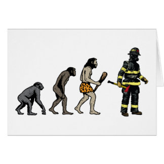 Firefighter Card