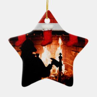 Firefighter Christmas Christmas Ornament