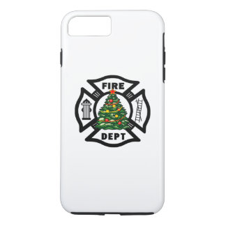 Firefighter Christmas Tree iPhone 7 Plus Case