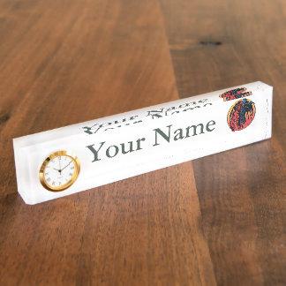 Firefighter Colors Desk Nameplate