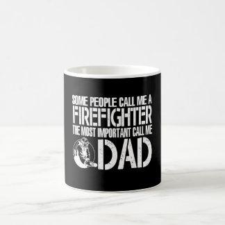 FIREFIGHTER DAD COFFEE MUG
