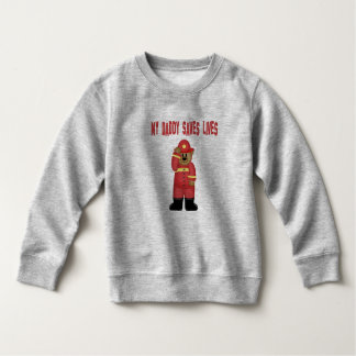 Firefighter  Dad Infant Body Suit Sweatshirt
