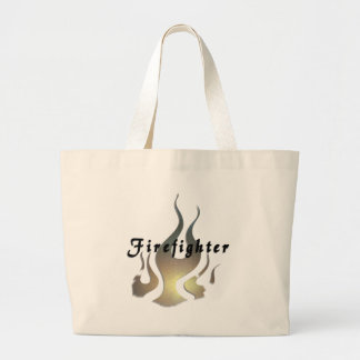 Firefighter Decal Jumbo Tote Bag