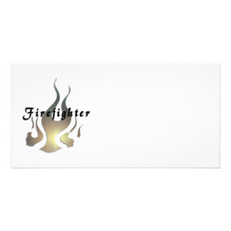 Firefighter Decal Photo Cards