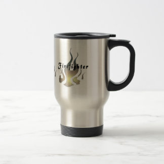Firefighter Decal Travel Mug