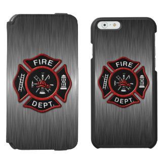 Firefighter Deluxe Incipio Watson™ iPhone 6 Wallet Case
