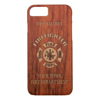 FireFighter Elegant Name Template iPhone 8/7 Case