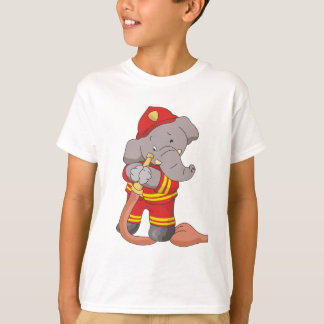 Firefighter Elephant Tshirts and Gifts