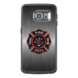 Firefighter Emblem Red