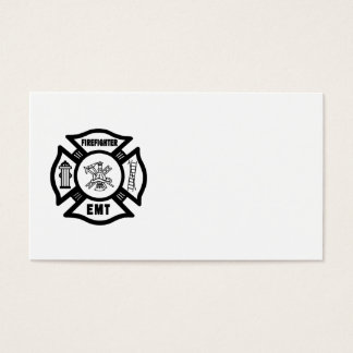 Firefighter EMT Business Card