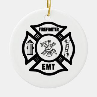 Firefighter EMT Christmas Ornament