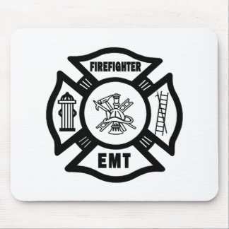 Firefighter EMT Mousepad