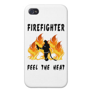 Firefighter Feel The Heat iPhone 4/4S Case