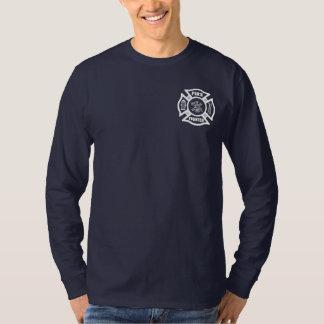 Firefighter Fire Dept Maltese T-Shirt