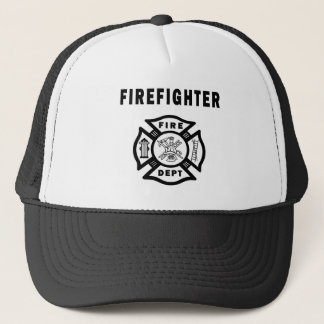 Firefighter Fire Dept Trucker Hat