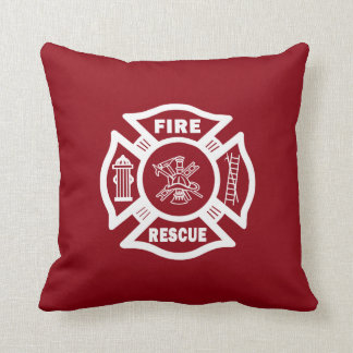 Firefighter Fire Rescue Cushion