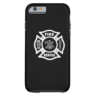 Firefighter Fire Rescue Tough iPhone 6 Case
