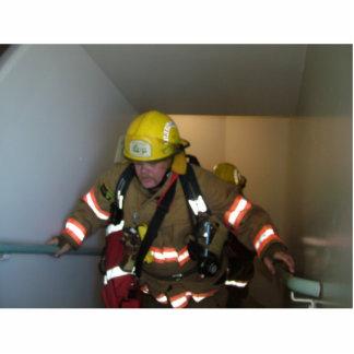 "firefighter, firefighting,""photo"" standing photo sculpture"