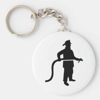 Firefighter Fireman Key Chains