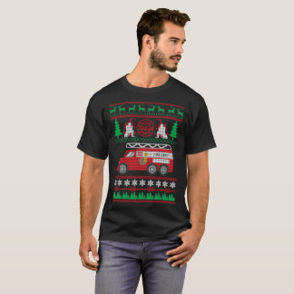 Firefighter Firemen Ugly Christmas Sweater Funny