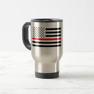 Firefighter flag  mug