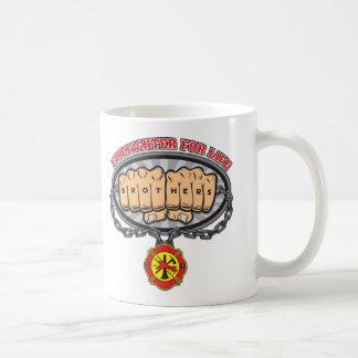 Firefighter for Life Basic White Mug