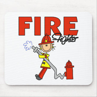 Firefighter Gift Mouse Pad