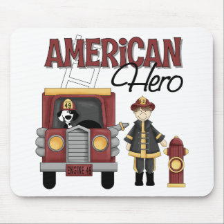 Firefighter Gifts Mouse Mat