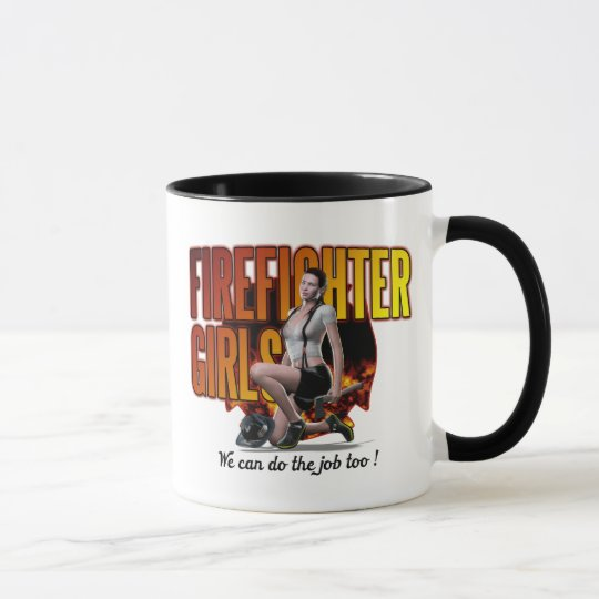 Firefighter Girl Amy Mug