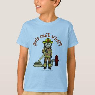 Firefighter Girl T-Shirt
