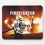 Firefighter Handline Mouse Mat