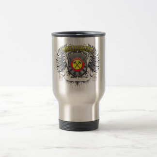 Firefighter Heraldry Travel Mug
